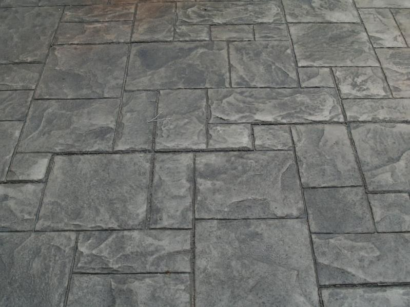 stamped concrete stamping decorative concrete floors India