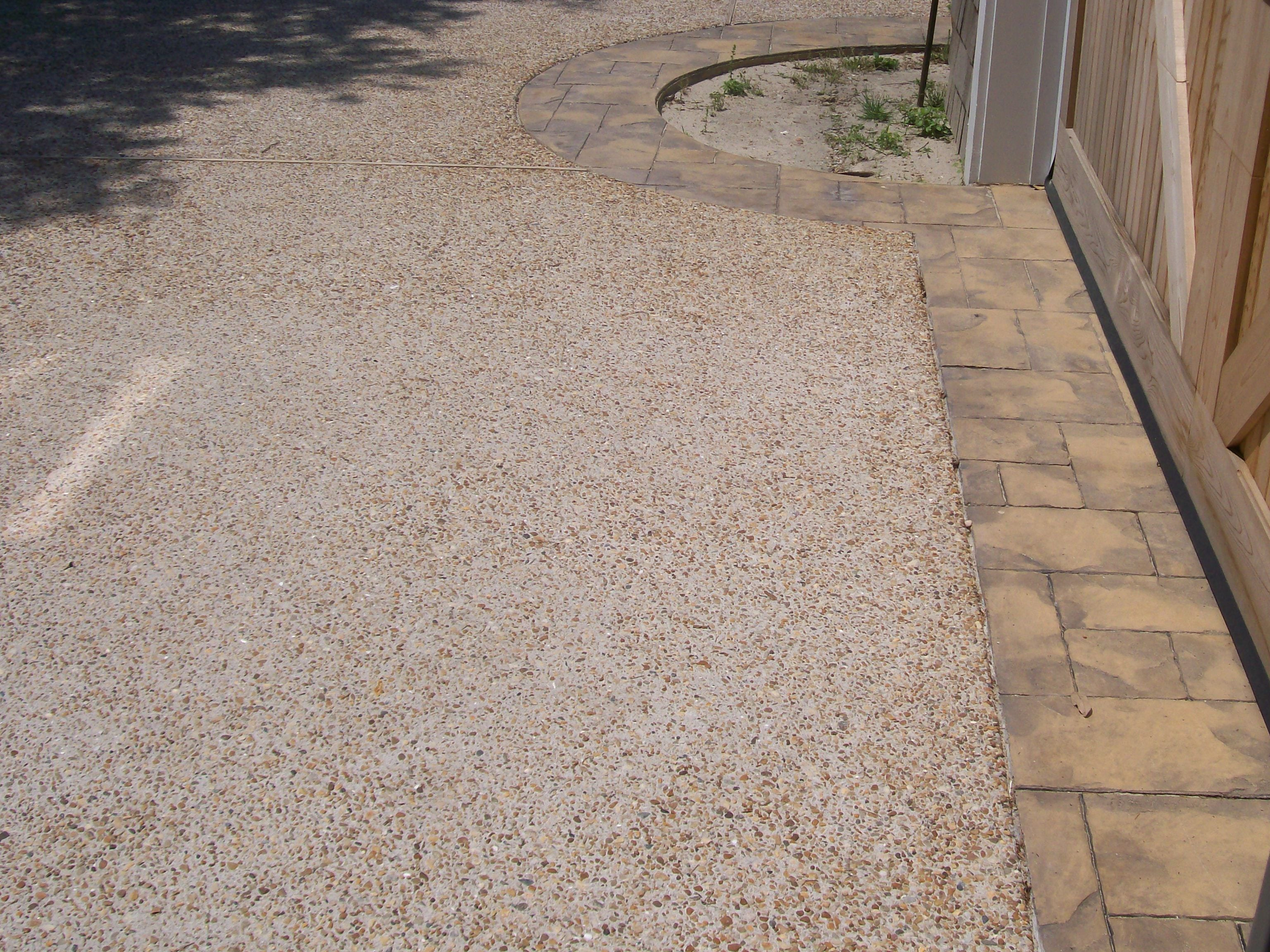 Exposed Aggregate pathway